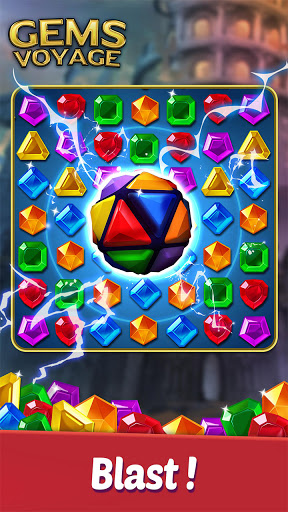 Gems Voyage - Match 3 & Jewel Blast 1.0.20 screenshots 1