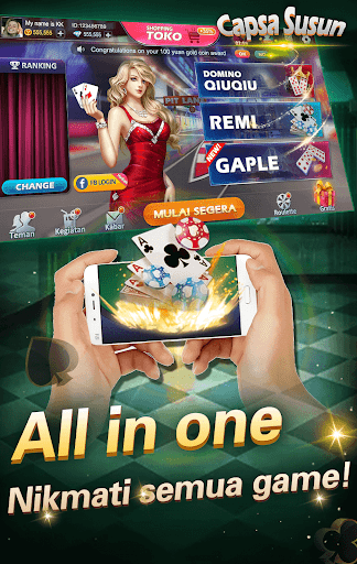 Capsa susun poker bonus remi gaple domino online 1.4.5 screenshots 5