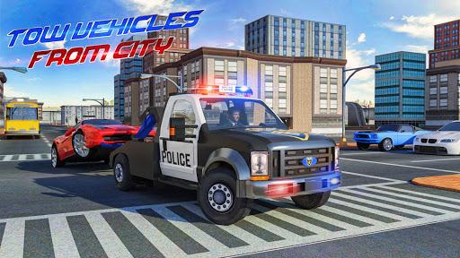 Police Tow Truck Driving Simulator 1.3 screenshots 6