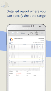 Timesheet PDF - Easily track hours worked