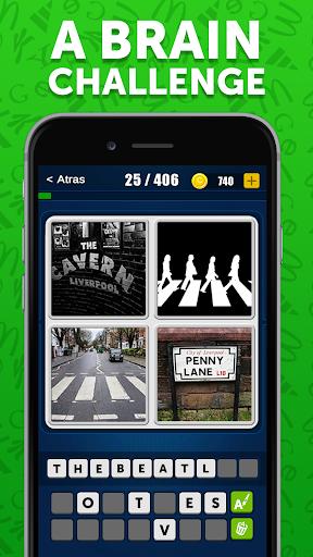 4 Pics 1 Logo Game - Free Guess The Word Games  screenshots 5