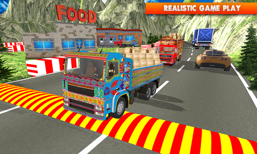 Euro Cargo Real Truck Driver apkpoly screenshots 4