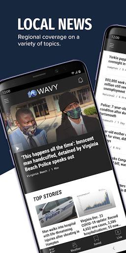 WAVY TV 10 - Norfolk, VA News  screenshots 1