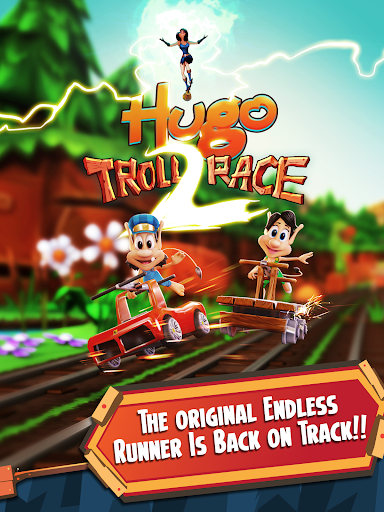 Hugo Troll Race 2: The Daring Rail Rush  screenshots 10