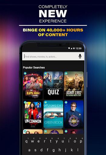 SonyLIV: Originals, Hollywood, LIVE Sport, TV Show apktram screenshots 3