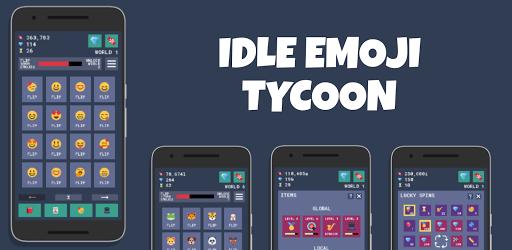 Idle Emoji Tycoon: Loot Box Simulator Clicker Game 2.0.0 screenshots 1