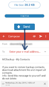 How to Run MCBackup  My Contacts for PC (Windows 7,8, 10 and Mac) 2