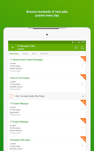 Totaljobs - Search for the top UK jobs online apktram screenshots 7