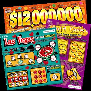 Las Vegas Scratch Ticket