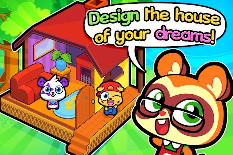 Forest Folks - Cute Pet Home Design Game 1.0.5 screenshots 1