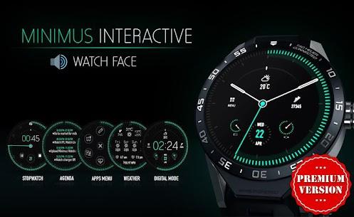 Minimus Watch Face & Clock Live Wallpaper 3.1 Mod APK Download 1