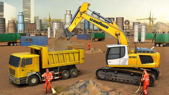 city building construction house: excavator games hack
