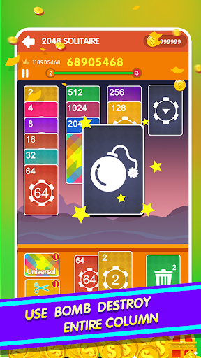 2048 Cards Casual - 2048 Solitaire Games 1.0.9 screenshots 3