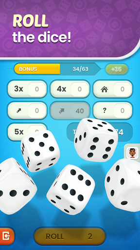 Golden Roll: The Yatzy Dice Game 2.3.0 screenshots 4