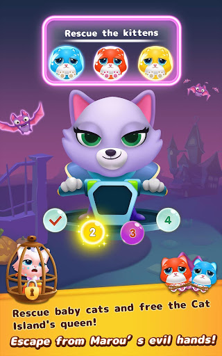 Bubble Shooter: Cat Island Mania 2020 apktram screenshots 19