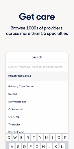 Zocdoc Find A Doctor & Book On Demand Appointments 3.51.0 Screenshots 8