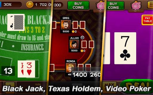 ud83cudfb0 Free Casino: Slots and Poker - win your jackpot  screenshots 7