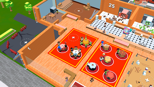 Idle Cafe Tap Tycoon MOD (Unlimited Money) 4