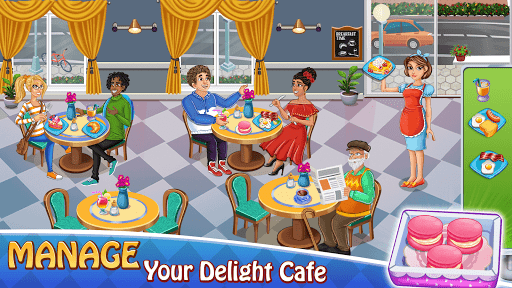 Cooking Delight Cafe Chef Restaurant Cooking Games  screenshots 4