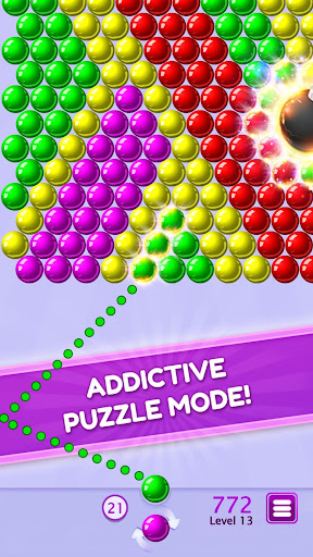 bubble shooter puzzle screenshot 1