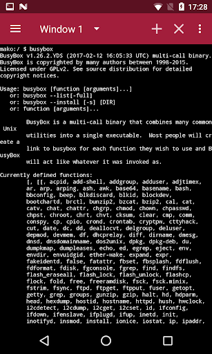 BusyBox X [Root] X 106 Screenshots 7