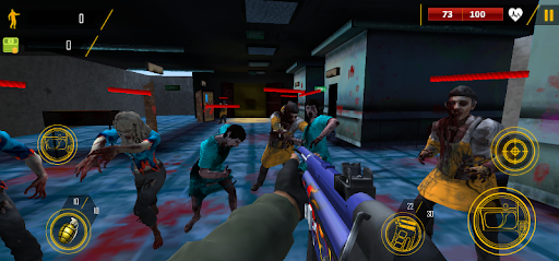 Zombie Shooter - 3D Shooting Game  screenshots 1