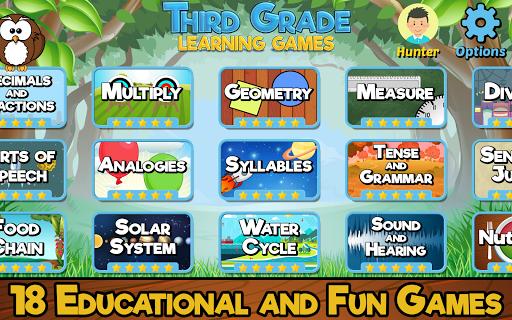 Third Grade Learning Games screenshots 6