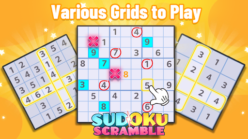 Sudoku Scramble - Head to Head Puzzle Game apkpoly screenshots 8