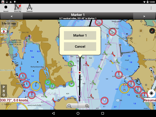 i-Boating:Marine Navigation Maps & Nautical Charts modavailable screenshots 14