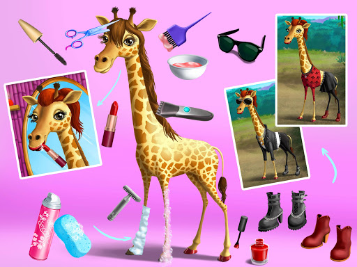 Jungle Animal Hair Salon - Styling Game for Kids 4.0.10018 screenshots 16