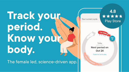 Clue: Period Tracker, Ovulation, Cycle & Pregnancy Screenshot