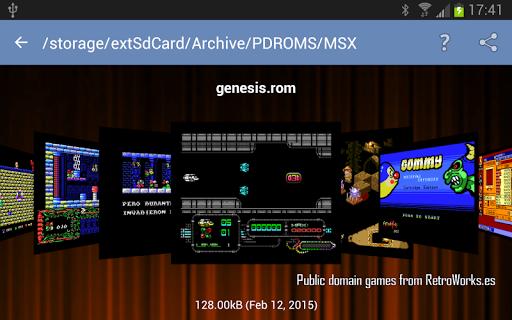 fMSX - Free MSX Emulator  screenshots 15