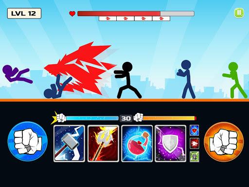 Stickman Fighter : Mega Brawl (stick fight game) 21 screenshots 14