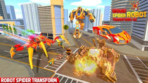 Grand Robot Transform Spider Games  screenshots 1