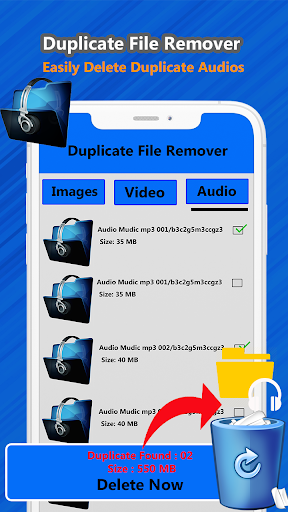 Duplicate file remover & all Media cleaner 1.2 screenshots 4