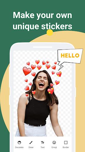 iSticker - Sticker Maker for WhatsApp stickers screenshots 1