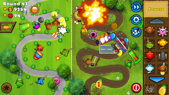Bloons TD 5 MOD APK 3.30 (Unlimited Money) 4