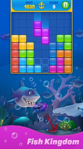Save Fish - Block Puzzle Aquarium modavailable screenshots 4