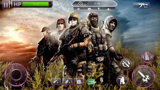 Télécharger Gratuit Nouveaux Jeux 2021: Jeux de Mission Combat No Wifi  APK MOD (Astuce) screenshots 1
