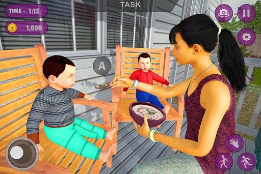 Virtual Twins mom: Mother Simulator Family life 3 screenshots 9