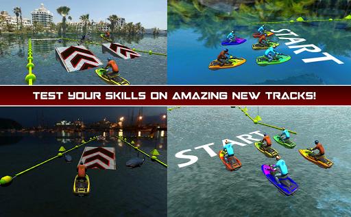 Power Boat Jet Ski Simulator: Water Surfer 3D apktram screenshots 1