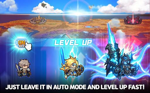 Raid the Dungeon : Idle RPG Heroes AFK or Tap Tap 1.8.1 screenshots 10