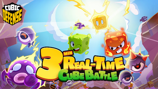 Cubic Defenseuff1a3Mins Real-Time Battle 1.0.0 screenshots 15