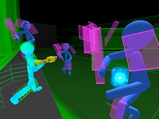 Stickman Neon Gun Warriors Apkfinish screenshots 12