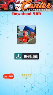 Image For Mod Truk Canter Gunawan Putra Versi 1.0 5