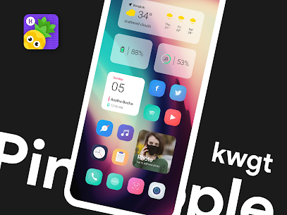 Pineapple KWGT 4.8 Apk 1