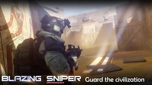 Blazing Sniper - offline shooting game