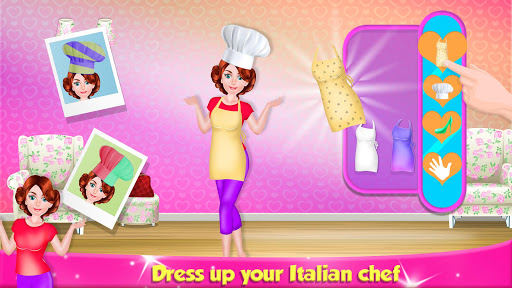 Italian Pasta Maker: Cooking Continental Foods apktram screenshots 4