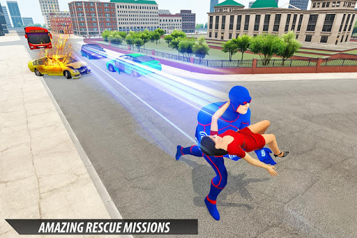 Grand Light Speed Robot Hero City Rescue Mission 2.0 screenshots 8