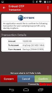 Entrust IdentityGuard Mobile 3.5.5.72 APK Mod for Android 2